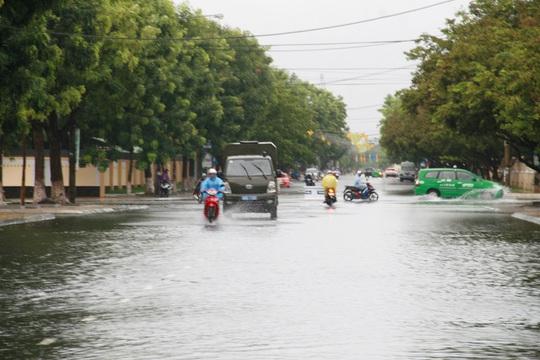 TP Tam Kỳ có lượng mưa lớn nhất miền Trung trong ngày 12-9