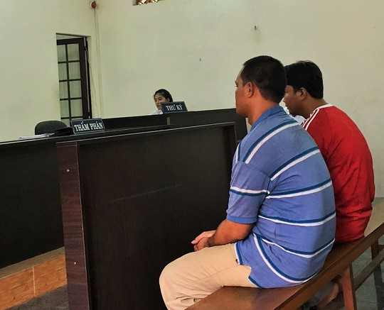 Hai bị cáo tại phiên tòa phúc thẩm