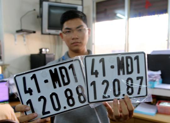Biển số xe dành cho xe máy điện, mô tô điện ở TP HCM bắt đầu từ mã 41-MĐ1