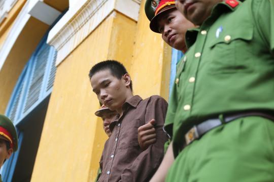 Vũ Văn Tiến tại phiên toà phúc thẩm diễn ra vào ngày 18-7, tại TAND Cấp cao TP HCM