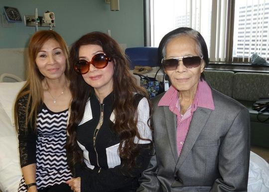 NSƯT Mỹ Châu thăm vợ chồng NS Minh Cảnh tại Mỹ