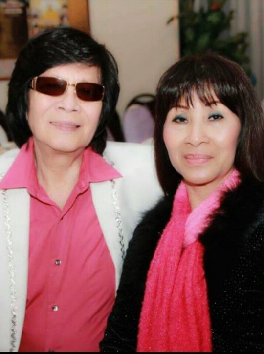 NS Minh Cảnh và vợ