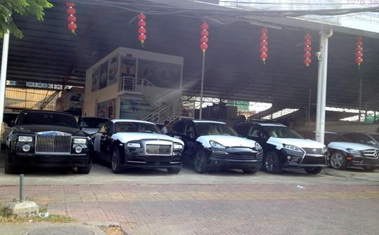 Campuchia là thị trường béo bở của xe sang bởi thuế thấp. Ảnh: Haskanwrites