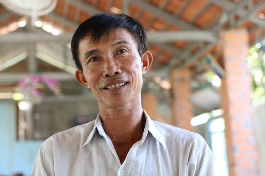 Ông Nguyễn Văn Bỉ, người bị khởi tố vì xây chòi vịt