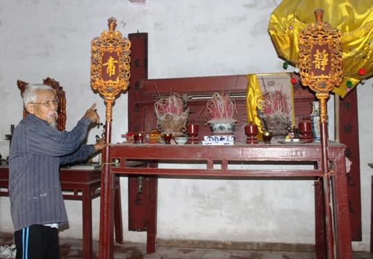 Nhà thờ dòng họ Lê Hiểm còn có những hiện vật rất có giá trị, cần được tìm hiểu để bảo vệ