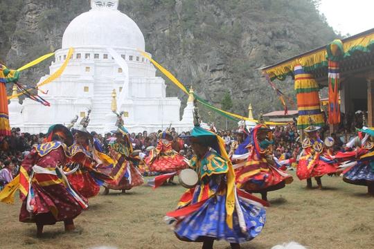 Biểu diễn văn hóa dân tộc Bhutan