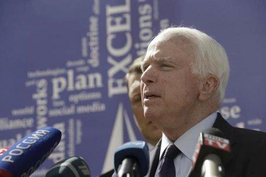 Chủ tịch Ủy ban Quân lực Thượng viện Mỹ, Thượng nghị sĩ John McCain Ảnh: REUTERS