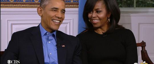 Tổng thống Mỹ Barack Obama và Đệ nhất phu nhân Michelle Obama Ảnh: CBS