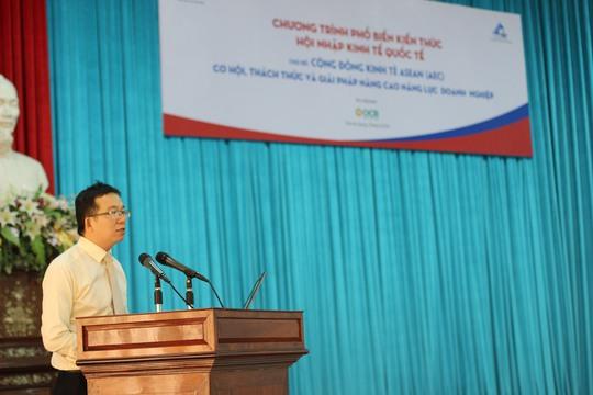 Ông Lê Ngọc Trung, Phó Cục Trưởng Cục Công tác phía Nam đại diện phát biểu khai mạc
