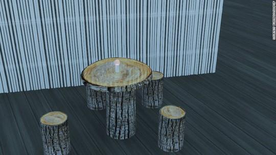 Một vài hình ảnh thiết kế về không gian nhà hàng Bunyadi. Ảnh: Bunyadi