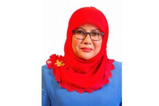 Thứ trưởng Công nghiệp Đồn điền và Hàng hóa Malaysia, Noriah Kasnon Ảnh: THE STRAITS TIMES
