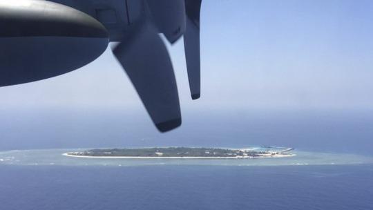 Toàn cảnh đảo Ba Bình Ảnh: AP