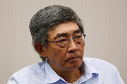 Ông Lâm Vinh Cơ tại buổi họp báo hồi tháng 6 Ảnh: REUTERS