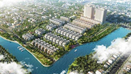 Tổng quan dự án nhìn từ cầu Phú Mỹ