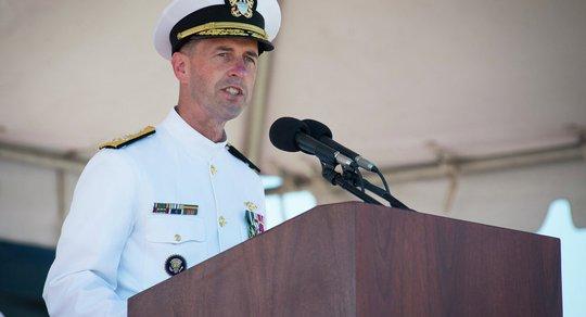 Tham mưu trưởng hải quân Mỹ, Đô đốc John Richardson Ảnh: SPUTNIK
