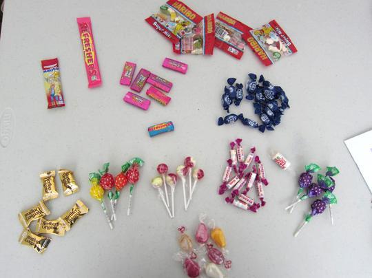 Hãy để trẻ tự chọn chiếc kẹo mà chúng thích!