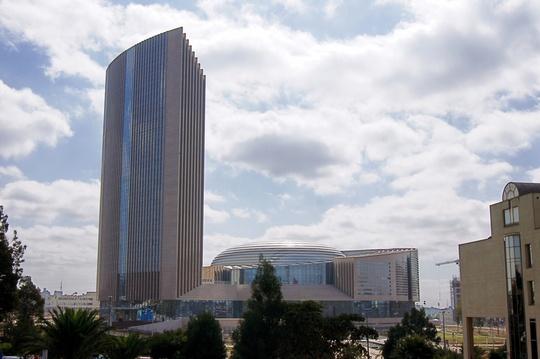 Trụ sở mới của Liên hiệp châu Phi (AU) đặt tại Adis Abeba - thủ đô Ethiopia Ảnh: EPA