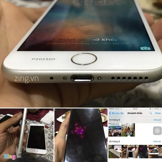 Những bức ảnh chụp iPhone 7 tại Việt Nam từ tháng 8. Ảnh: Gia Khang.