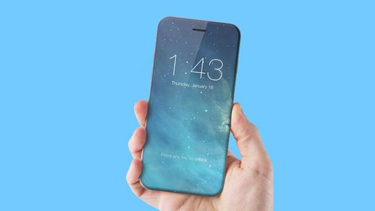 Apple sẽ tiếp tục làm khó các đối tác khi yêu cầu bọc kính bên ngoài thân kim loại cho thế hệ iPhone năm 2017. Ảnh: Conceptphone.