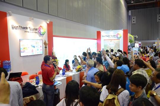 Hàng ngàn lượt khách tham gia chương trình khuyến mãi của BenThanh Tourist tại ITE HCMC 2015