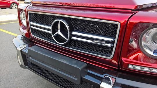 """Chi 700 triệu đồng cho màu sơn """"lạ"""" trên Mercedes G63 AMG"""