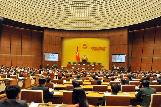 Tại kỳ họp thứ nhất, QH khóa XIV, QH sẽ bầu và phê chuẩn các chức danh lãnh đạo chủ chốt của Nhà nước