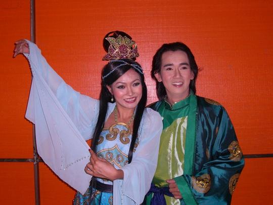 Minh Thuận và Phương Thanh trong vở Kim Vân Kiều