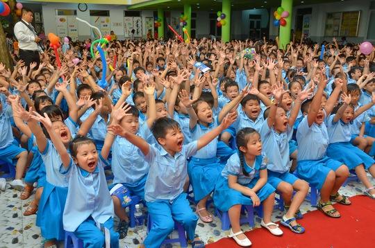 Học sinh Trường Tiểu học Lê Ngọc Hân