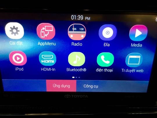 Lộ diện Innova 2016 phiên bản V cao cấp nhất sắp ra mắt tại Việt Nam
