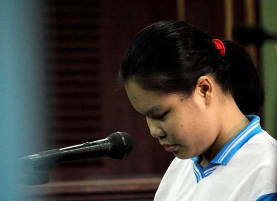 Bị cáo Nguyễn Thị Lượm tại phiên tòa phúc thẩm