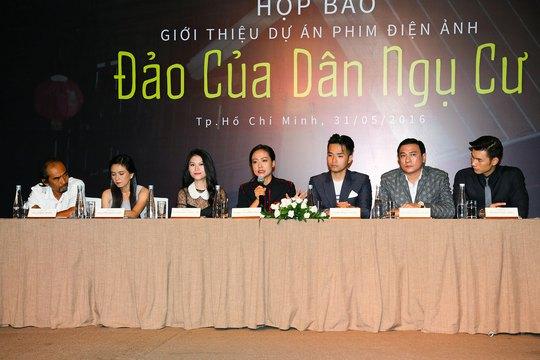 Tại buổi họp báo ra mắt dự án phim