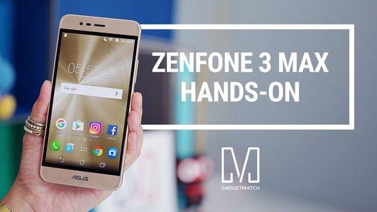 ZenFone 3 Max về Việt Nam