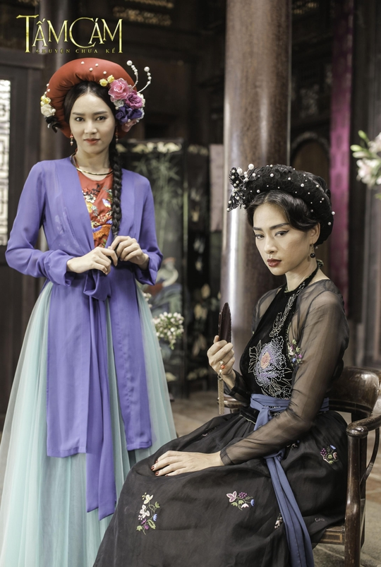 Một trong những mẫu trang phục của các nhân vật nữ trong phim