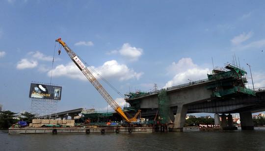 Công trình tuyến Metro đang được thi công khẩn trương