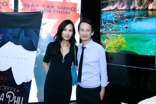 Đạo diễn Trần Anh Hùng và vợ Trần Nữ Yên Khê - giám đốc nghệ thuật của phim Vĩnh cửu