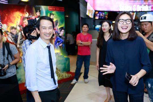 Diễn viên Ngô Thanh Vân đến chúc mừng đạo diễn Trần Anh Hùng