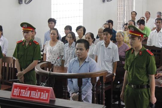 Bị cáo Nguyễn Văn Hiền tại tòa