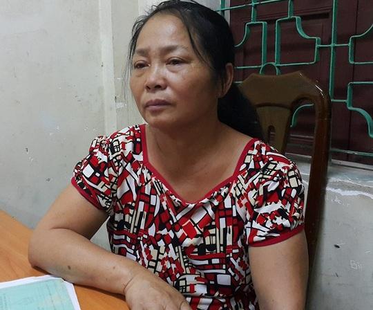 Bà Tạ Thị Tuyết, nghi phạm thuê côn đồ làm nhục bồ nhí của chồng