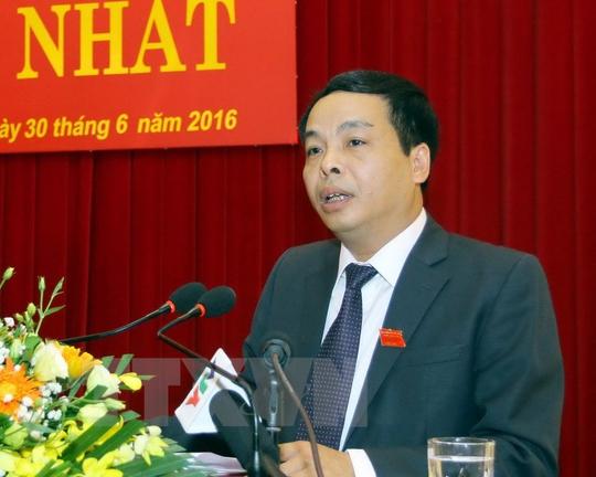 Chủ tịch HĐND tỉnh Yên Bái Ngô Ngọc Tuấn - Ảnh: TTXVN