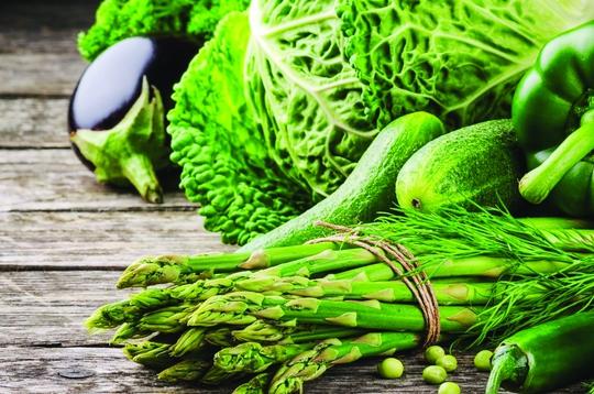 Tươi xanh từ các loại  rau củ sạch