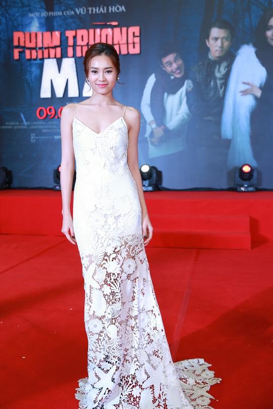 Ninh Dương Lan Ngọc tại buổi ra mắt phim