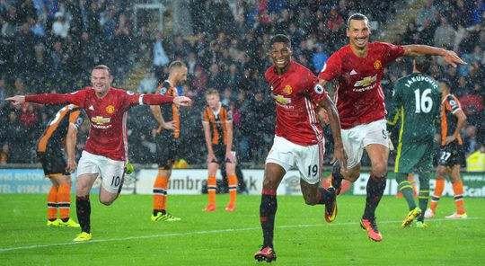 Rooney có công lớn trong chiến thắng của M.U trước Hull cuối tuần qua