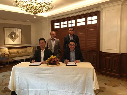 Đại diện Nam Long ký thoả thuận hợp tác với Keppel Land