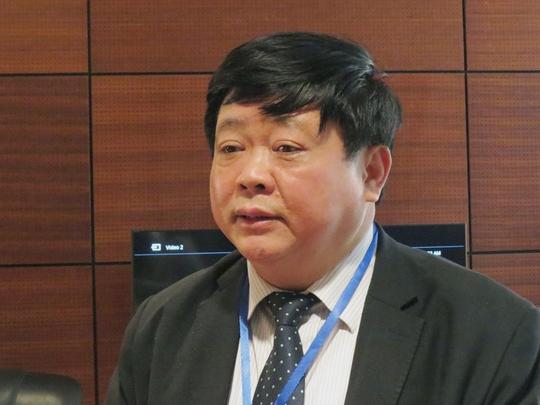 Phó trưởng Ban Tuyên giáo Trung ương Nguyễn Thế Kỷ, Giám đốc Trung tâm Báo chí Đại hội XII: Chủ quyền quốc gia trên Biển Đông đang bị thách thức nghiêm trọng