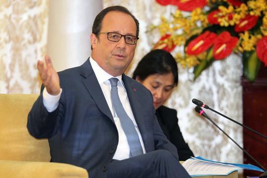 Tổng thống Pháp cảm ơn sự đón tiếp nồng hậu