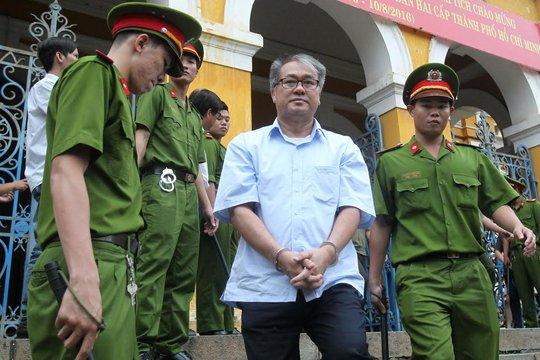 Bị cáo Phạm Công Danh, cựu chủ tịch Ngân hàng Xây dựng Việt Nam. Ảnh: Hoàng Triều
