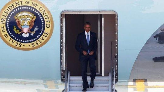 """Ông Obama kêu gọi phóng viên không """"phóng đại"""" sự cố. Ảnh: REUTERS"""