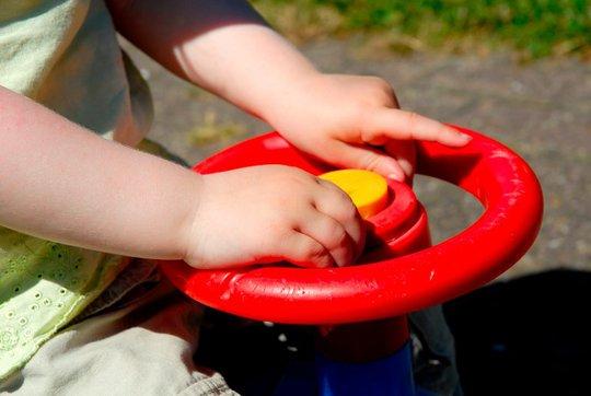 Cảnh sát tìm được nhà của đứa trẻ nhờ vào dấu vết bánh xe. Ảnh: MYFOX8