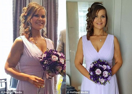 Lisa khoe thân hình cân đối trong một bữa tiệc cưới sau khi đạt được cân nặng phù hợp, 70 kg và cỡ quần áo 12.