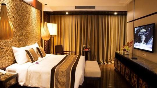 Phòng nghỉ sang trọng nhưng không kém phần tinh tế. Ảnh: iVIVU.com